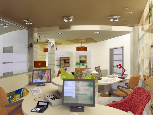 Travel agency office interior design images for Interior design agency